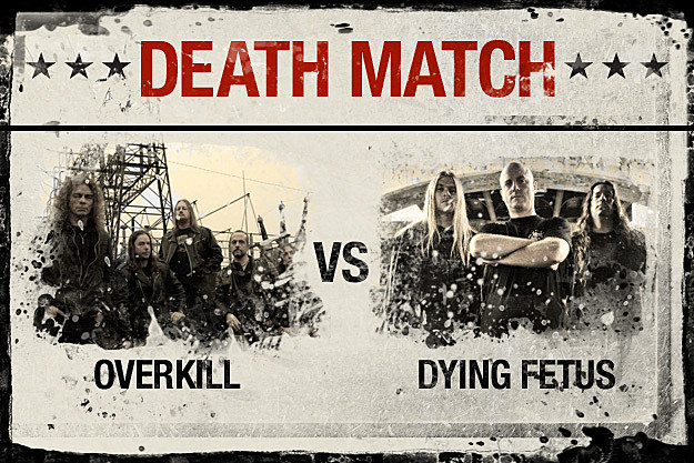 Overkill vs. Dying Fetus