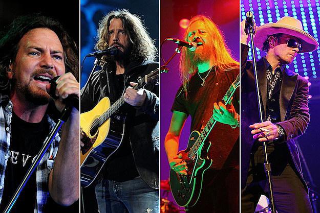 Eddie Vedder And Chris Cornell Eddie Vedder  Chris Cornell