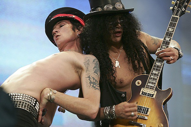 Scott Weiland and Slash