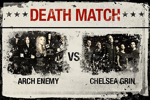 Arch Enemy vs. Chelsea Grin
