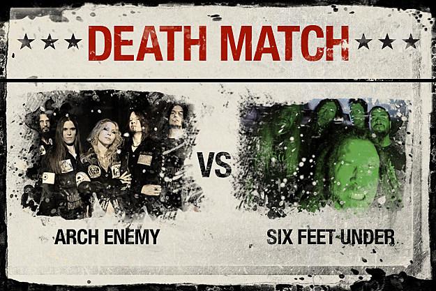 Arch Enemy vs. Six Feet Under