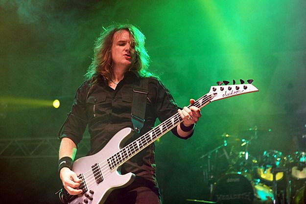 Dave Ellefson of Megadeth