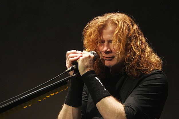Dave Mustaine of Megadeth