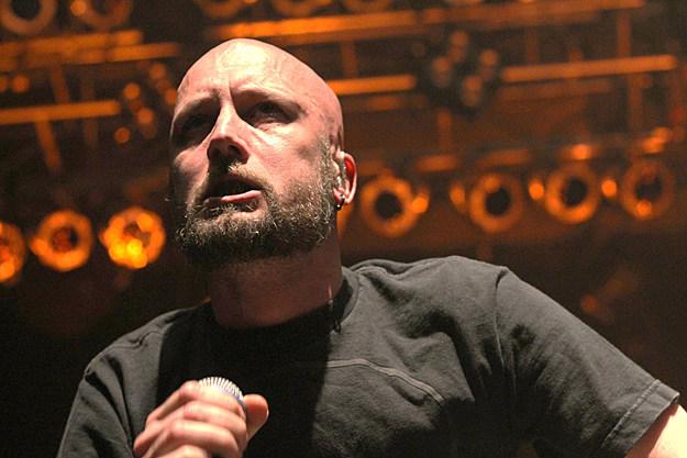 Jens Kidman of Meshuggah