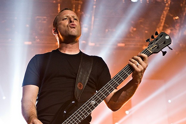 Mike Kroeger of Nickelback