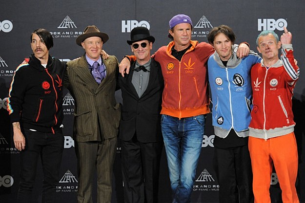 Red Hot Chili Peppers - Rock and Roll Hall of Fame Induction Ceremony