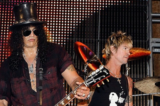 Slash and Duff McKagan