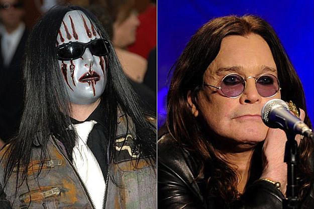 Slipknot's Joey Jordison / Black Sabbath's Ozzy Osbourne