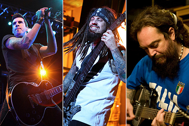 Tyler Connolly, Fieldy, Max Cavalera