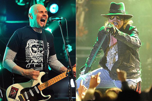 Billy Corgan / Axl Rose