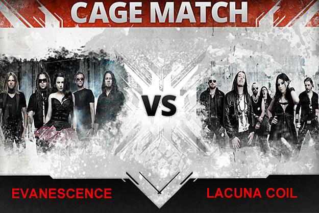 Evanescence / Lacuna Coil
