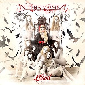 In This Moment Blood In This Moment Reveal Album Art + Track List for New Album Blood