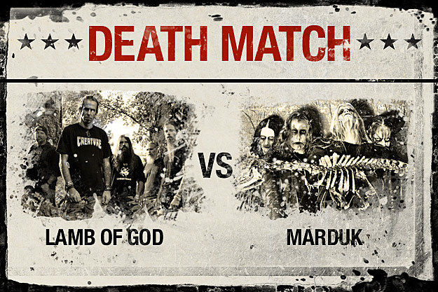 Lamb of God vs. Marduk