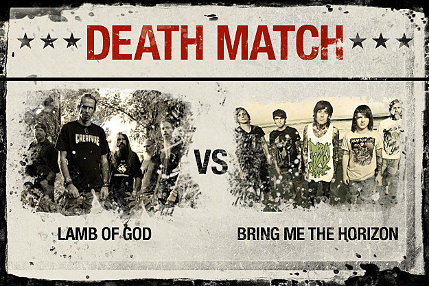 Lamb of God vs. Bring Me the Horizon