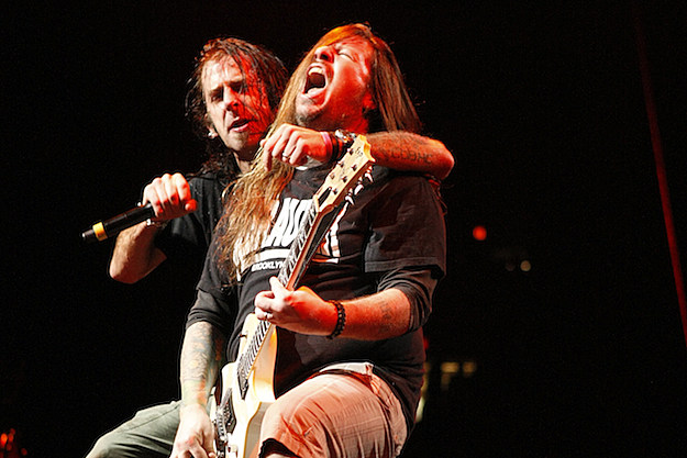 Randy Blythe and Willie Adler of Lamb of God