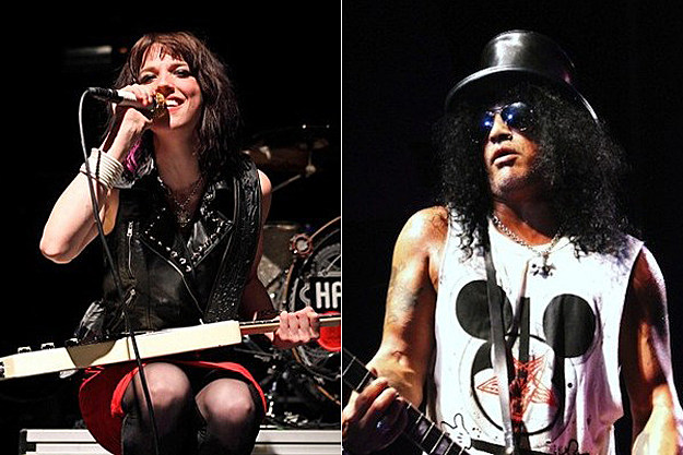 Lzzy Hale / Slash