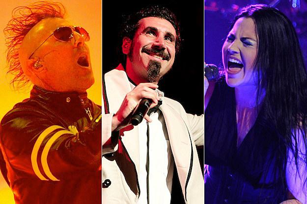 Maynard Keenan / Serj Tankian / Amy Lee