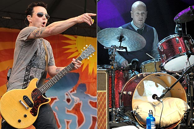 Pearl Jam's Mike McCready-Radiohead's Phil Selway