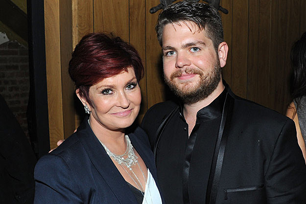 Photo of Sharon Osbourne & her Son  Jack Osbourne