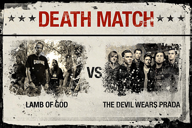 Lamb of God vs. The Devil Wears Prada