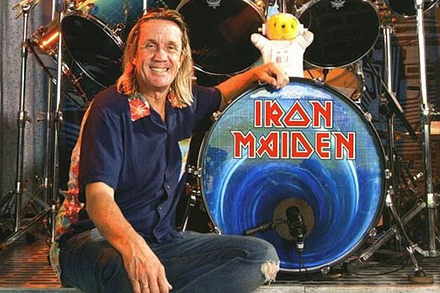 iron maiden drummer nicko mcbrain receives award for