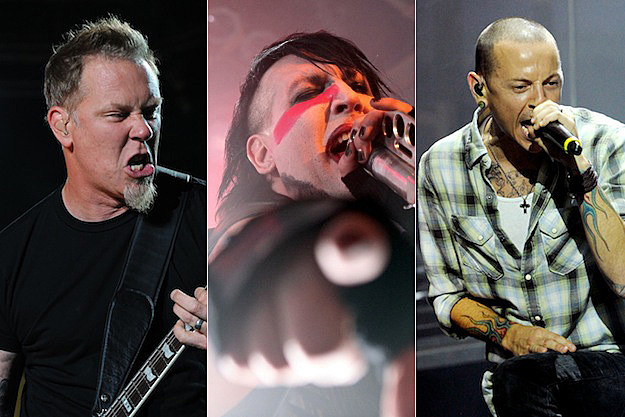 James Hetfield / Marilyn Manson / Chester Bennington
