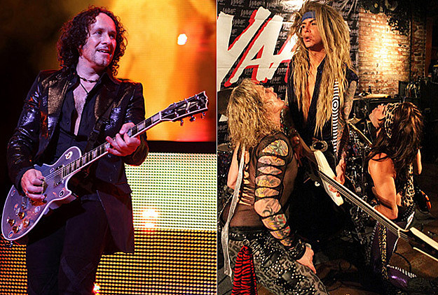 Vivian Campbell and Steel Panther
