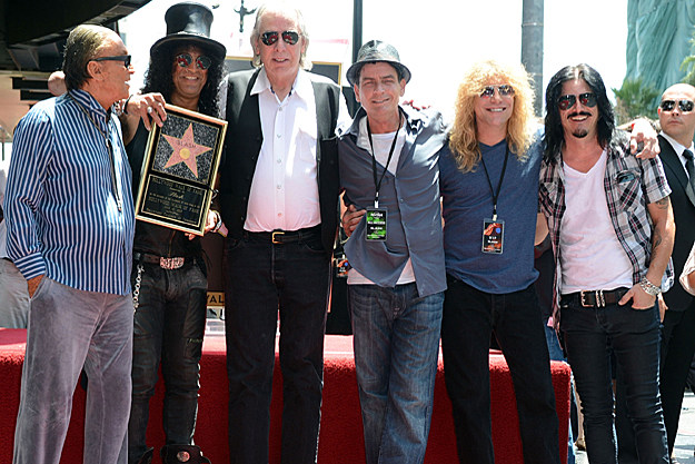Slash on the Hollywood Walk of Fame