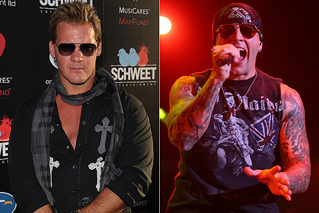 Chris Jericho of Fozzy and M. Shadows of Avenged Sevenfold