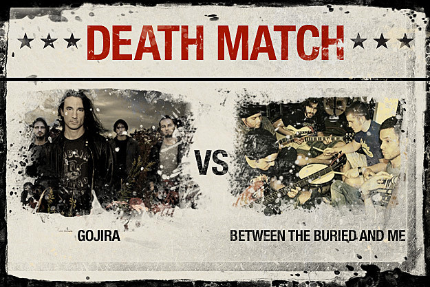 Gojira vs. Between the Buried and Me