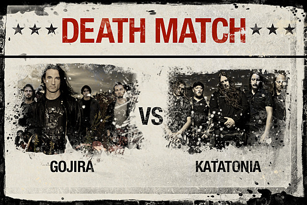 Gojira vs. Katatonia