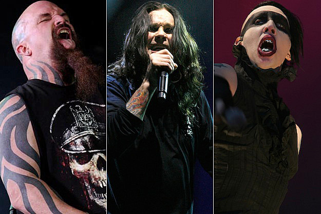 Kerry King / Ozzy Osbourne / Marilyn Manson
