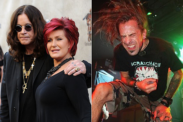 Ozzy and Sharon Osbourne / Randy Blythe