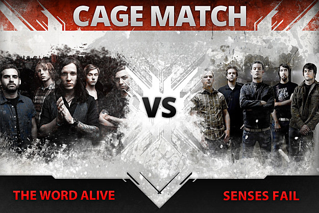 The Word Alive vs. Senses Fail