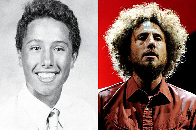 Zack De La Rocha Yearbook Pic