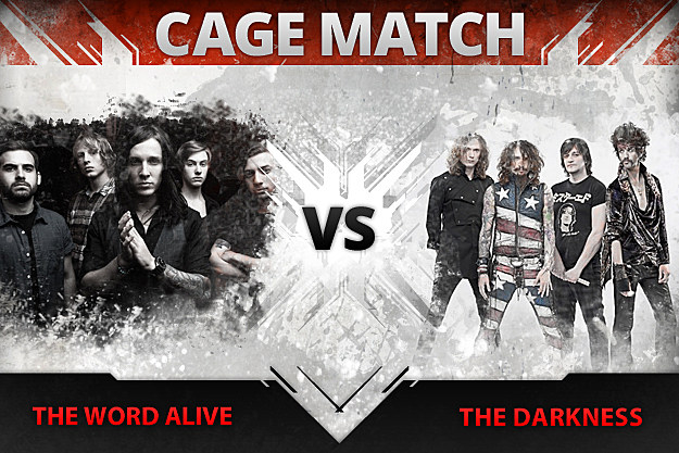 The Word Alive vs. The Darkness