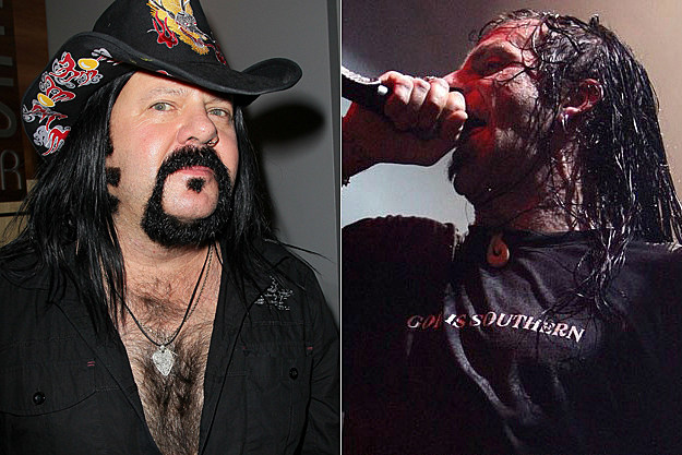 Vinne Paul and Randy Blythe