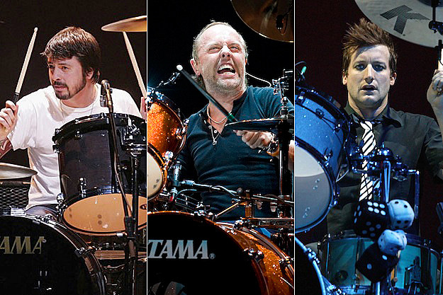 Dave Grohl / Lars Ulrich / Tre Cool