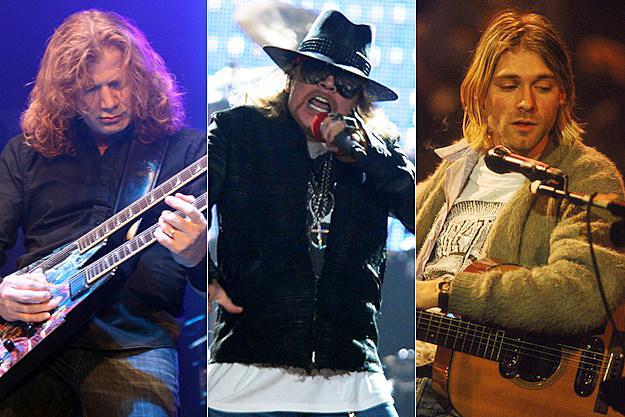 Dave Mustaine / Axl Rose / Kurt Cobain