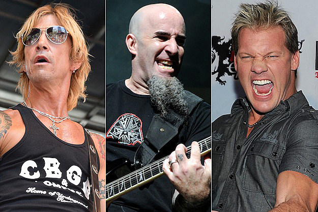 Duff McKagan / Scott Ian / Chris Jericho