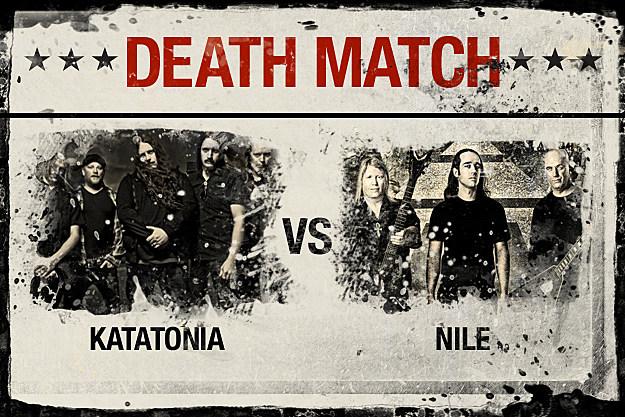 Katatonia vs. Nile