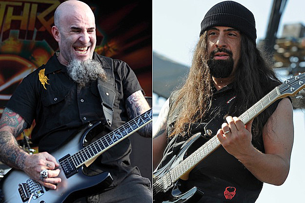 Scott Ian and Rob Caggiano of Anthrax