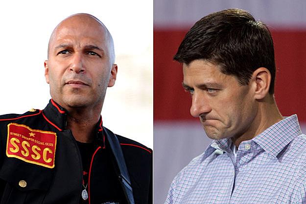 Tom Morello and Paul Ryan