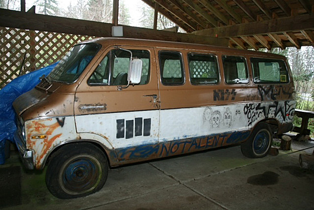 Used Cars Augusta Ga >> Melvins Tour Van With Kurt Cobain Artwork Up for Auction Again