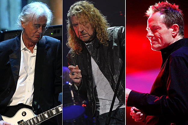 Jimmy Page-Robert Plant-John Paul Jones