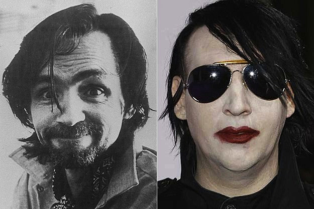 Charles Manson / Marilyn Manson
