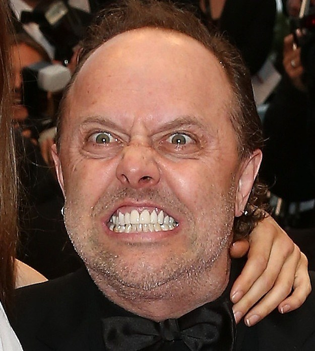 Lars Ulrich 'The Gary Busey'