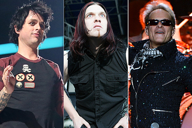 Green Day-Shinedown-Van Halen