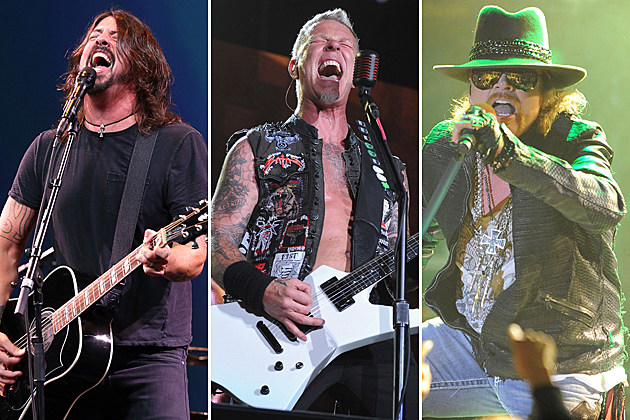 Foo Fighters-Metallica-Guns N' Roses