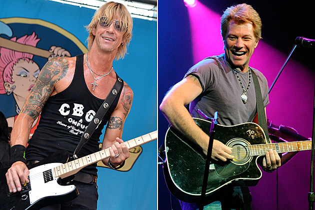 Duff McKagan Jon Bon Jovi